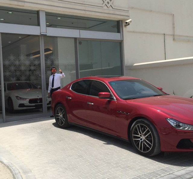 Big thanks to Maserati Sales Manager, Abdul Redha Mohammed!